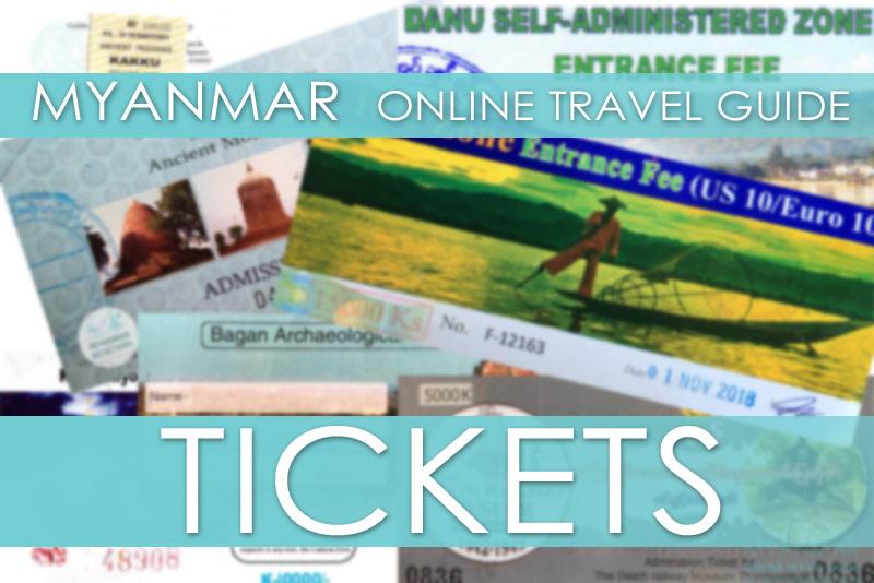 Tipps Myanmar| Tickets, Eintrittspreise