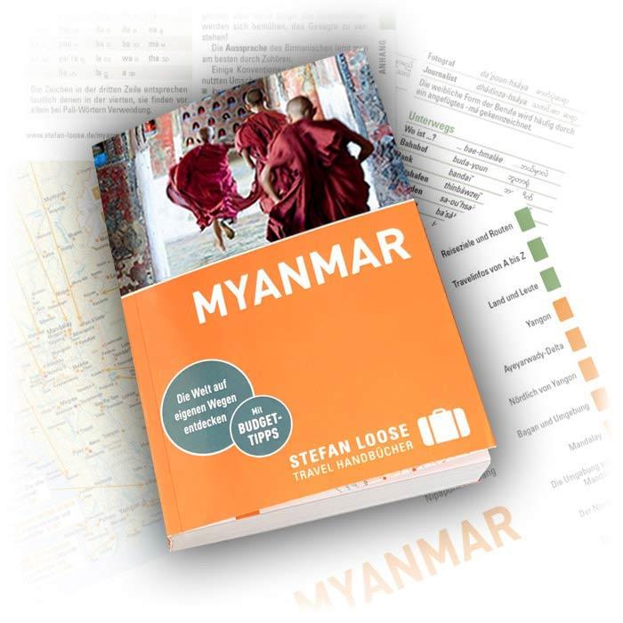 Neueste Auflage 2020 vom Stefan Loose Myanmar