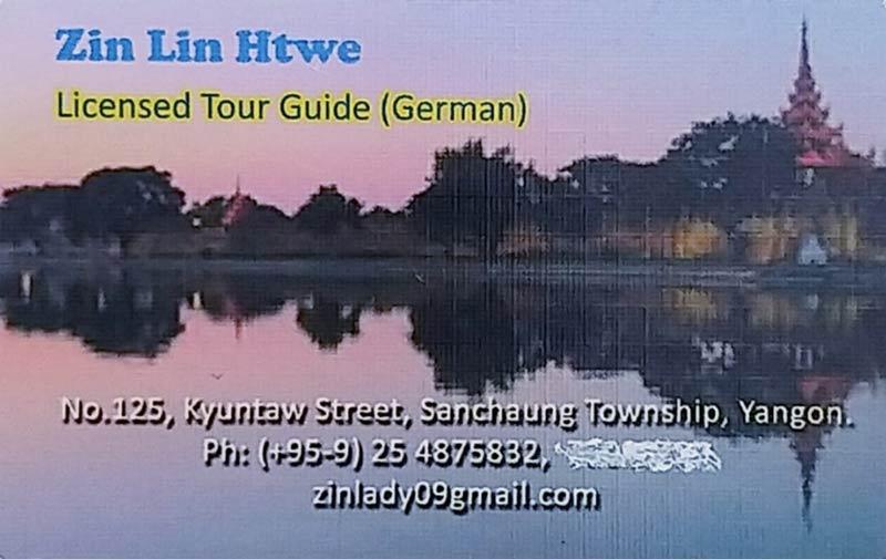 Myanmar Tipps - Guide Zin Lin Htwe