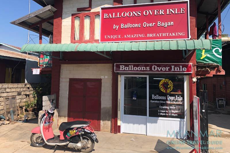 Myanmar Reisetipps | Nyaungshwe | Büro von Balloons Over Inle