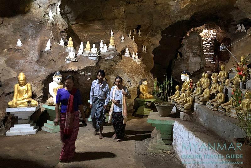 Myanmar Reisetipps | Nyaungshwe | Höhle Htet Eain Gu