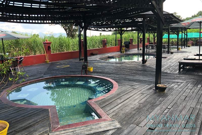 Myanmar Reisetipps | Inle-See | Khaung Daing Natural Hot Spring Inle im Dorf Nyaung Wun