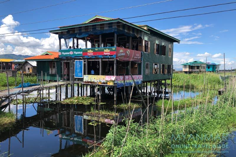 Myanmar Reisetipps | Inle-See | Family Restaurant in Maing Thauk