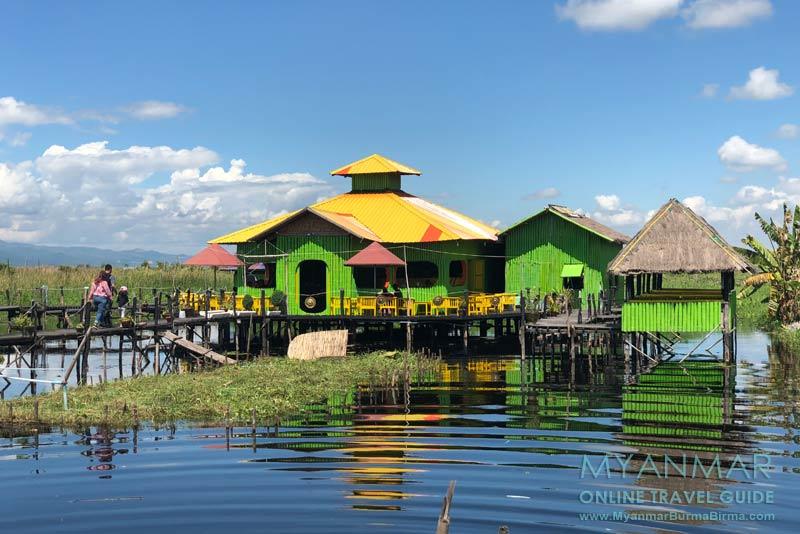 Myanmar Reisetipps | Inle-See | Inle Palace Restaurant in Maing Thauk