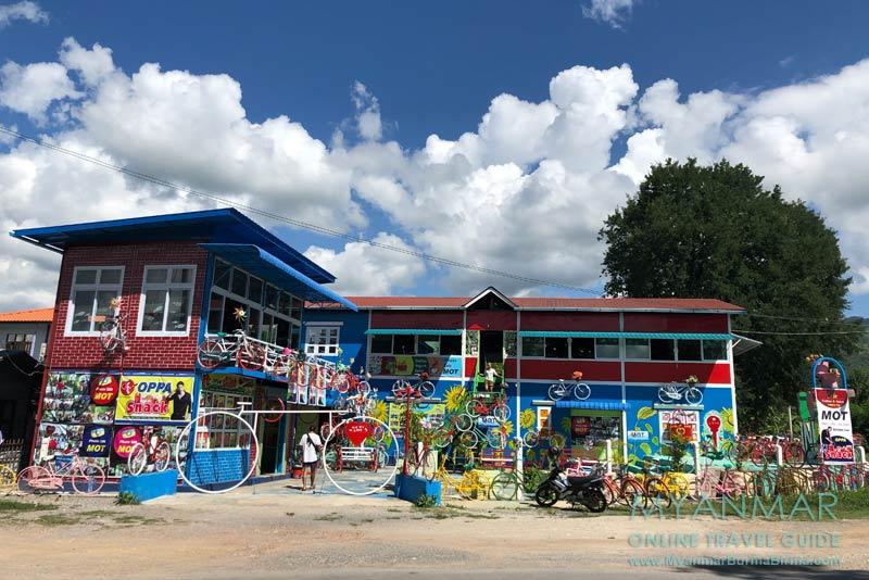 Myanmar Reisetipps | Inle-See | Mot Café an der Inle Lake East Corridor Road