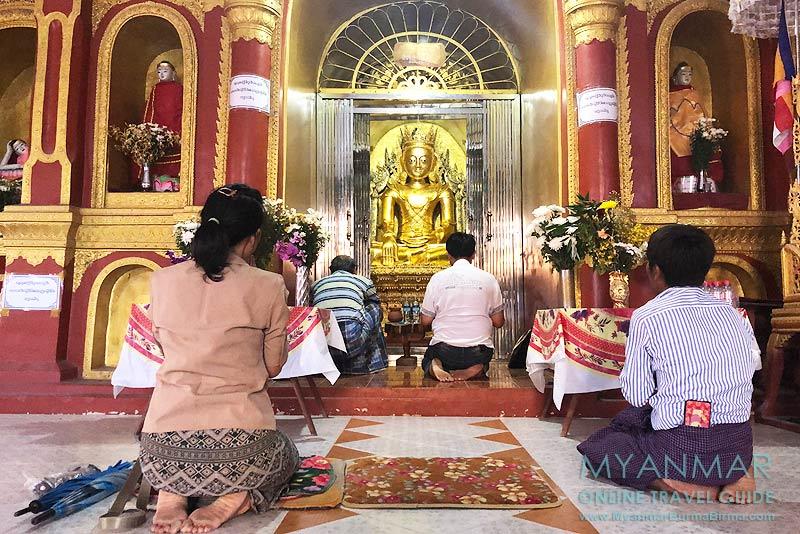 Myanmar Reisetipps | Inle-See | Gläubige in der Paung-Pine-Pagode