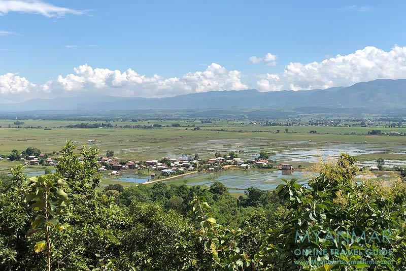 Myanmar Reisetipps | Inle-See | Blick von der Paung-Pine-Pagode