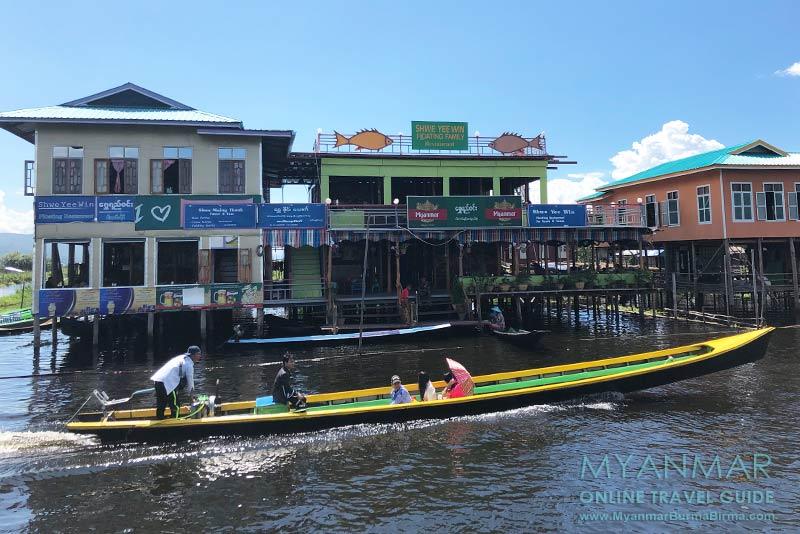 Myanmar Reisetipps | Inle-See | Shwe Yee Win Restaurant in Maing Thauk