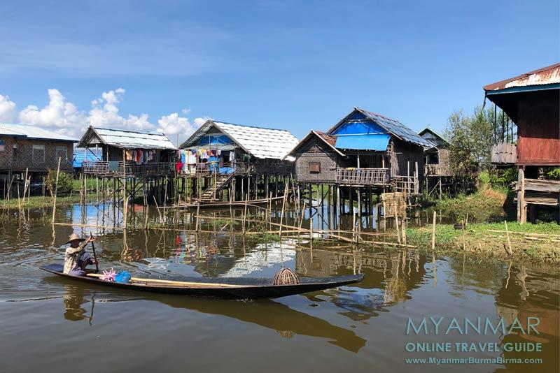 Myanmar Reisetipps | Inle-See | Dorf Thanle Oo Inn