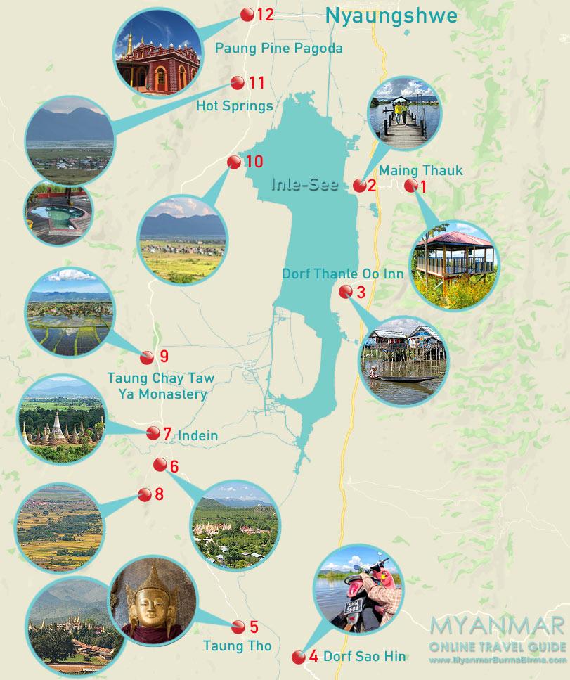 Myanmar Reisetipps | Inle-See | Loop mit dem Motorbike