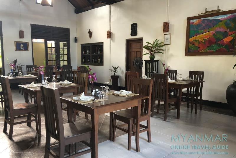 Myanmar Reisetipps | Inle-See und Indein | Restaurant Green Chili