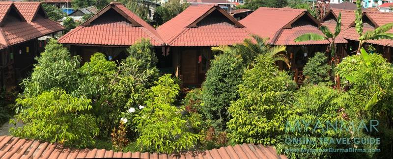 Myanmar Reisetipps | Inle-See und Indein | Inle Cottage Boutique Hotel in Nyaungshwe