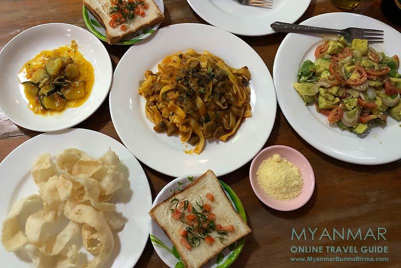 Myanmar Reisetipps | Inle-See und Indein | Star Flower Restaurant