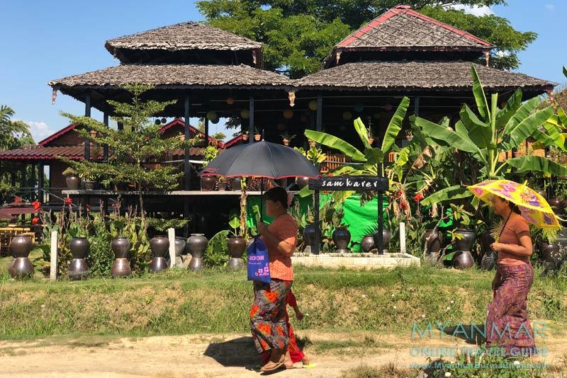 Myanmar Reisetipps | Samkar | Samkarer Restaurant & Lodging