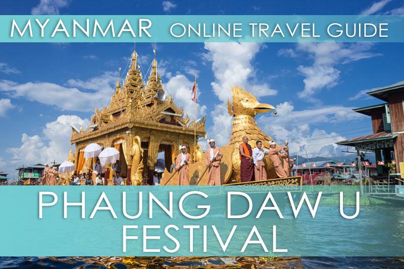 Die besten Tipps für das Phaung Daw U Festival auf dem Inle-See in Myanmar