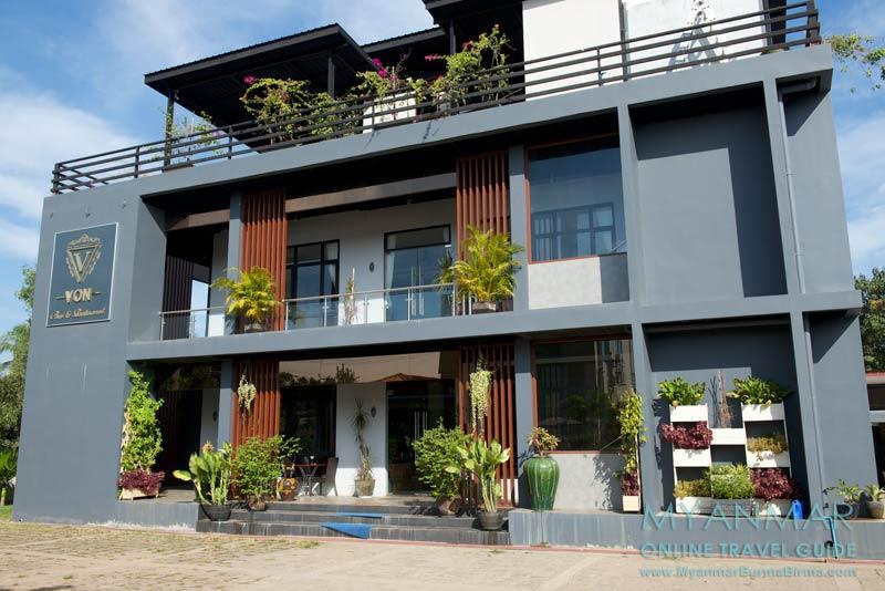Myanmar Reisetipps | Bago | VON Bar & Restaurant vom Kanbawza Hinthar Hotel