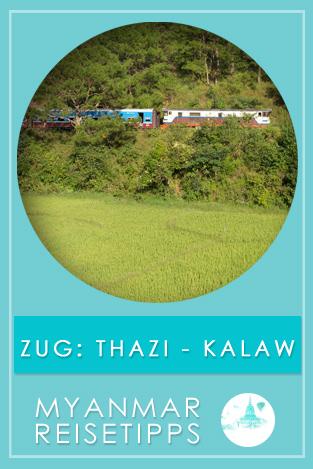 Myanmar: Bahnfahrt von Thazi nach Kalaw