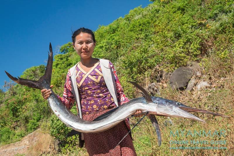 Myanmar: Auf der Halbinsel Dawei Peninsula gibt es reichlich frischen Fisch.
