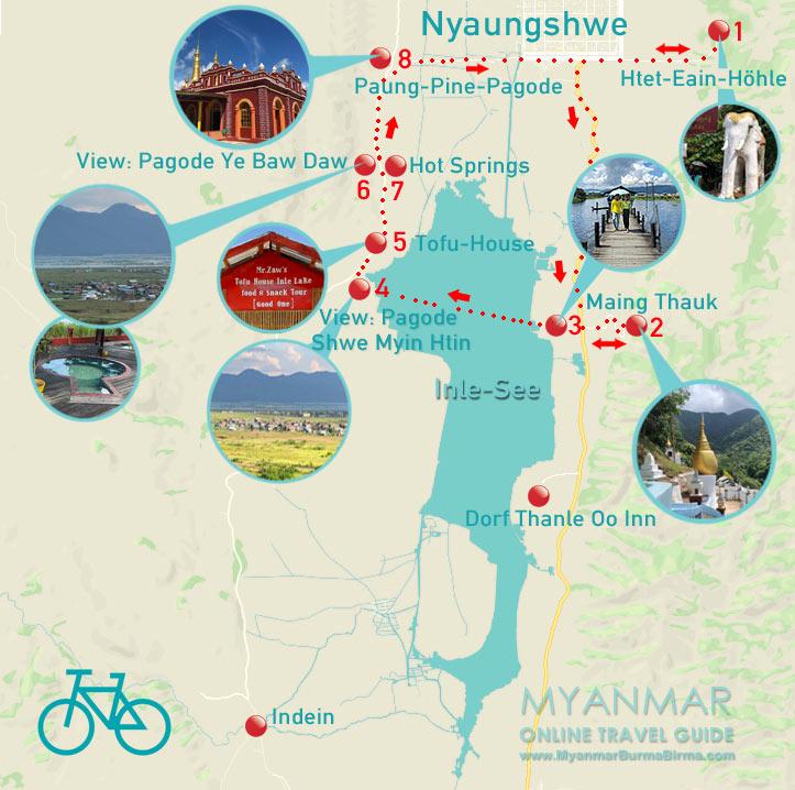 Myanmar Reisetipps | Inle-See | Loop mit dem Fahrrad