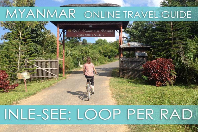 Tipps für eine Fahrradtour am Inle-See in Myanmar
