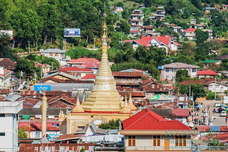 Myanmar Reisetipps | Kalaw | Aung-Chan-Tha-Pagode