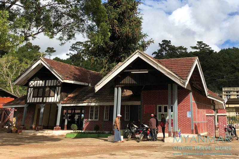 Myanmar Reisetipps | Kalaw | Bahnhof