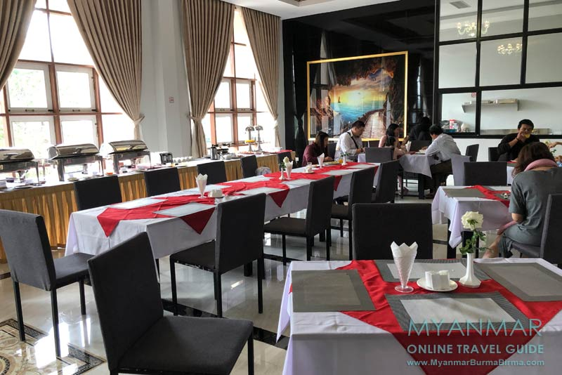 Myanmar Reisetipps | Kalaw | Restaurant im Mya Yar Pin Hotel