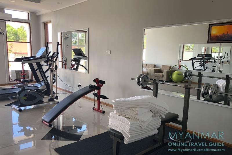 Myanmar Reisetipps | Kalaw | Fitnessraum im Mya Yar Pin Hotel