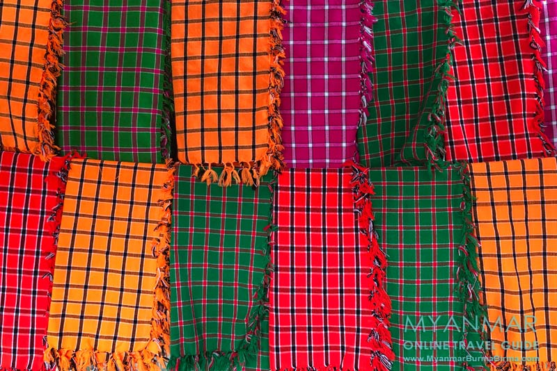 Myanmar Reisetipps | Umgebung von Kalaw | Kopftücher der Pa-O-Frauen