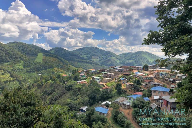 Myanmar Reisetipps | Umgebung von Kalaw | Palaung-Dorf Pin Ja Bae