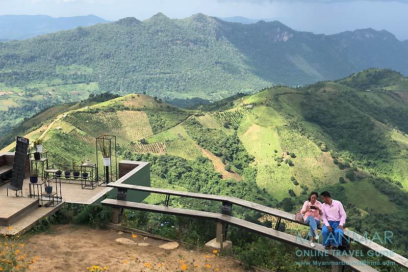 Myanmar Reisetipps | Umgebung von Kalaw | Aussicht am Viewpoint@Kalaw
