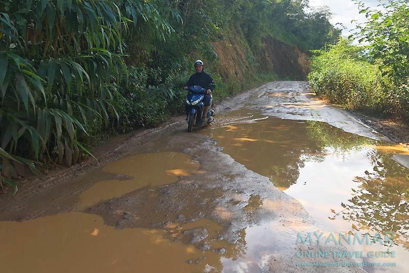 Myanmar Reisetipps | Umgebung von Kalaw | Auf dem Weg zum Viewpoint@Kalaw