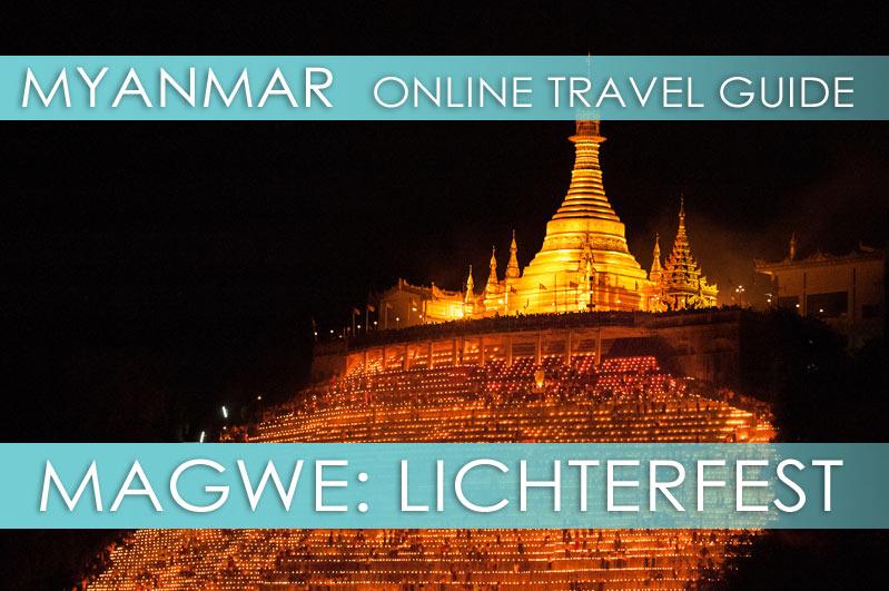 Lichterfest in Myanmar: Thadingyut (Festival of Lights)