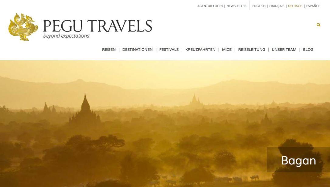 Myanmar Reisetipps | Startseite von Pegu Travels
