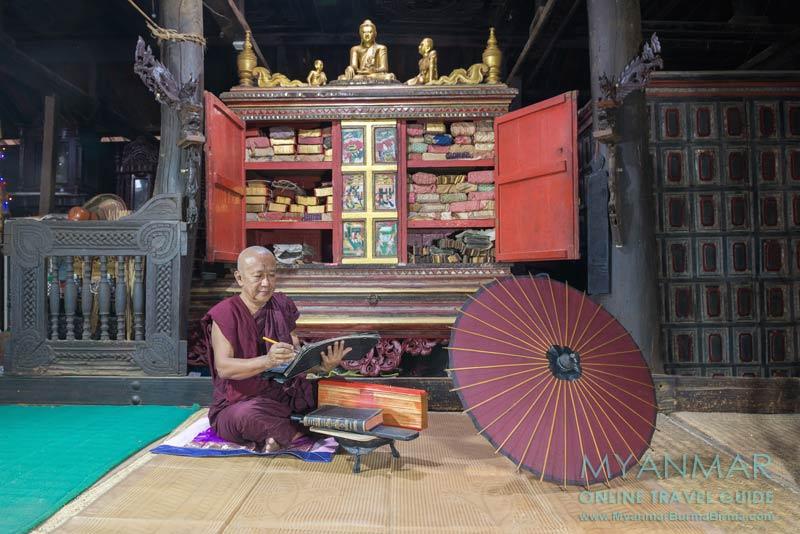 Myanmar Reisetipps | Sale | Abt U Ashin Pandita vom Kloster Sasana Yaunggyi