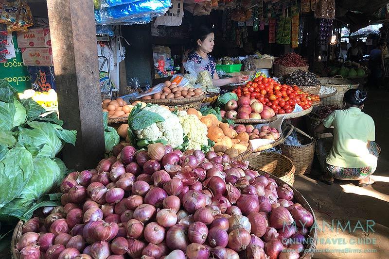 Myanmar Reisetipps | Sale | Markt