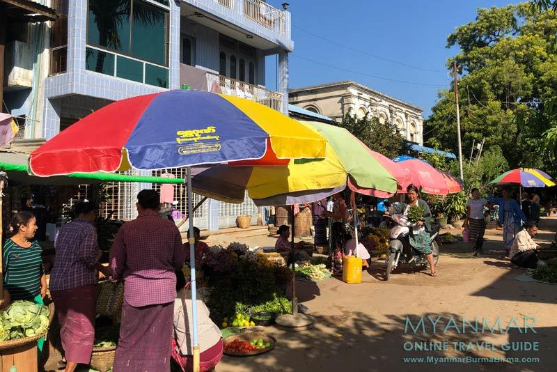 Myanmar Reisetipps | Sale | Morgenmarkt