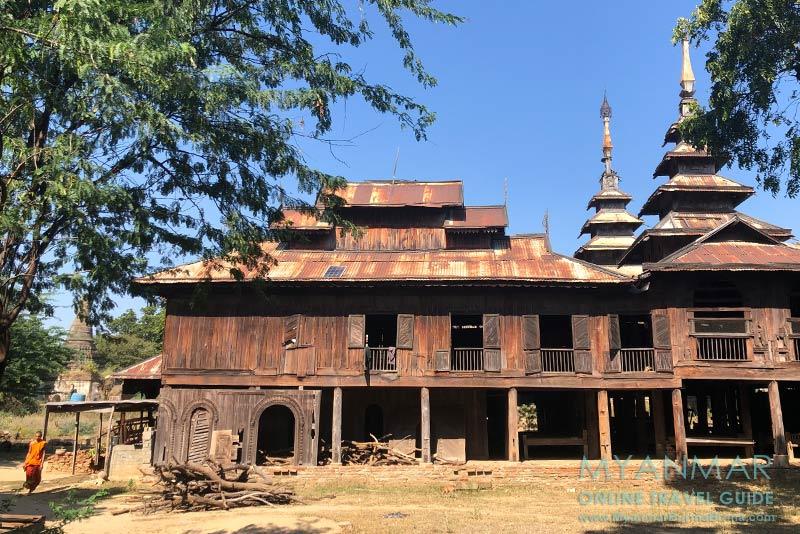 Myanmar Reisetipps | Sale | Teakholzkloster in Pakhan Nge