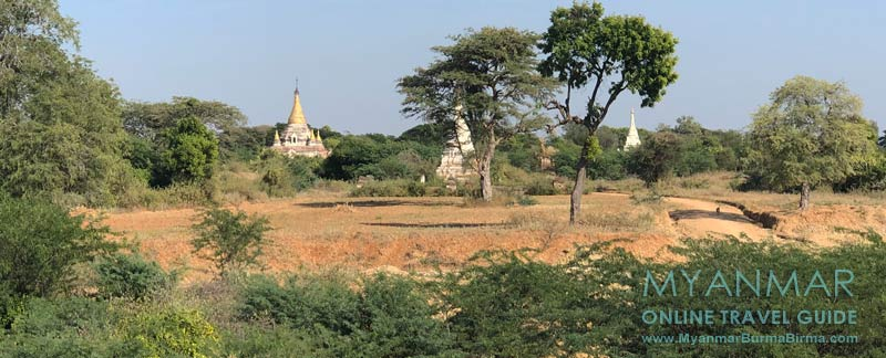 Myanmar Reisetipps   Sale   Pagoden in Pakhan Nge