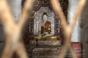 Myanmar Reisetipps | Sale | Buddha-Statue in Pakhan Nge