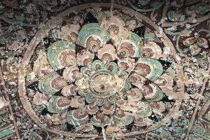 Myanmar Reisetipps | Sale | Deckenmalerei in Pakhan Nge