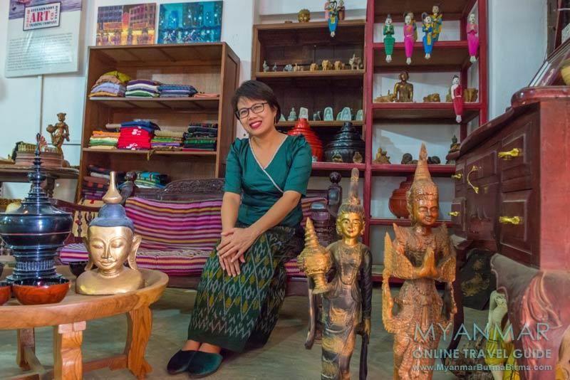 Myanmar Reisetipps | Sale | Besitzerin Win Thida Khine vom Salay House & Salay River View Inn