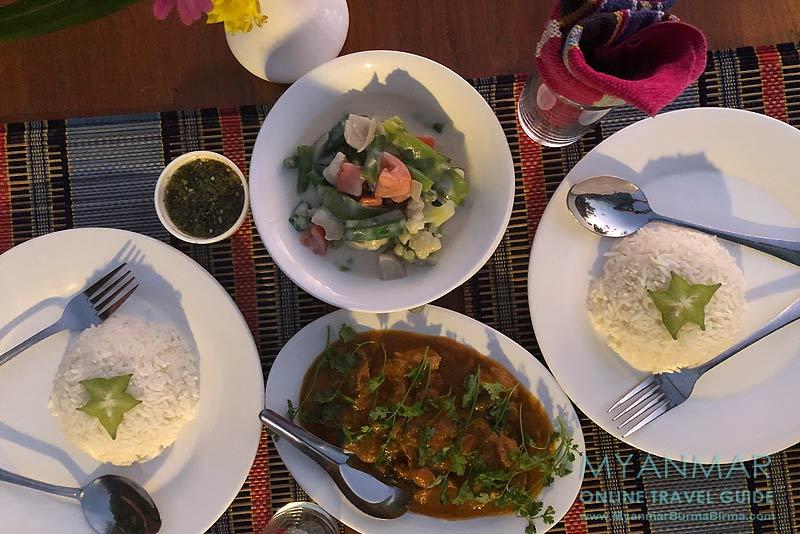 Myanmar Reisetipps | Sale | Salay House Restaurant & Bar