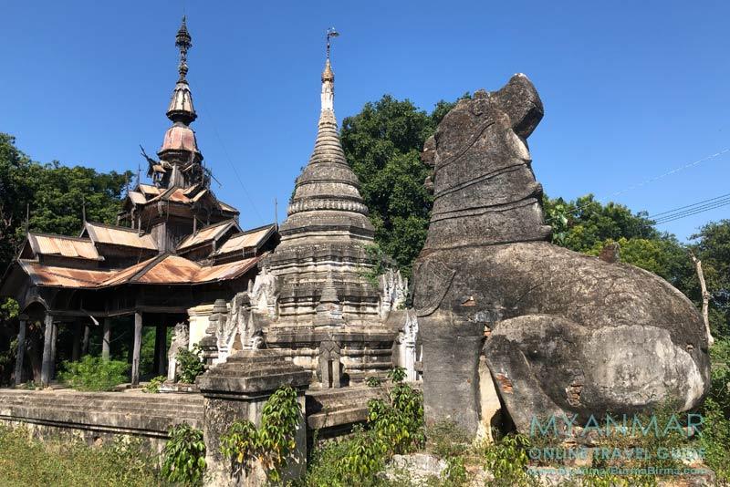Myanmar Reisetipps | Sale | Pagodenkomplex Shin Bin Sar Kyo