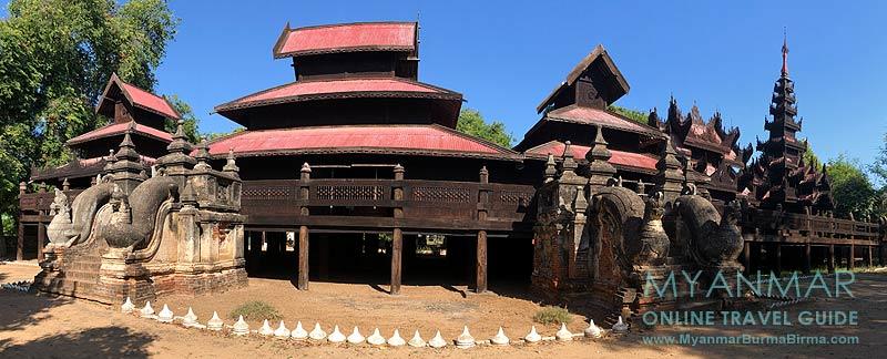Myanmar Reisetipps | Sale | Teakholzkloster Yoke Sone Kyaung