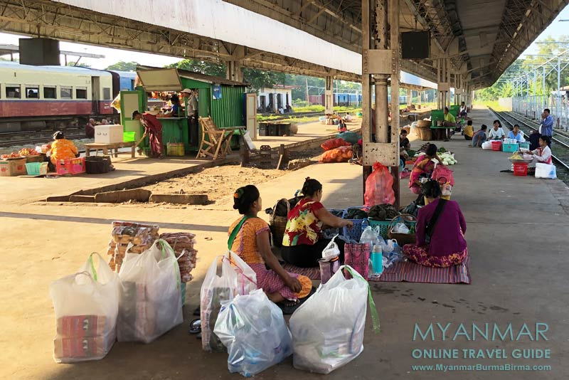 Myanmar Reisetipps | Thazi | Bahnhof