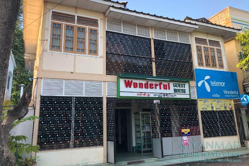Myanmar Reisetipps | Thazi | Wonderful Guest House