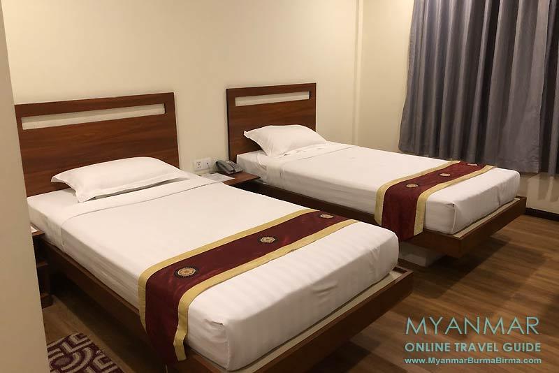 Myanmar Reisetipps | Toungoo | Doppelzimmer im Pathi Hotel