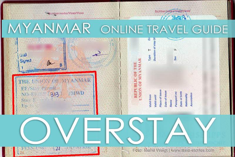 Visum überzogen? Tipps für einen Overstay in Myanmar