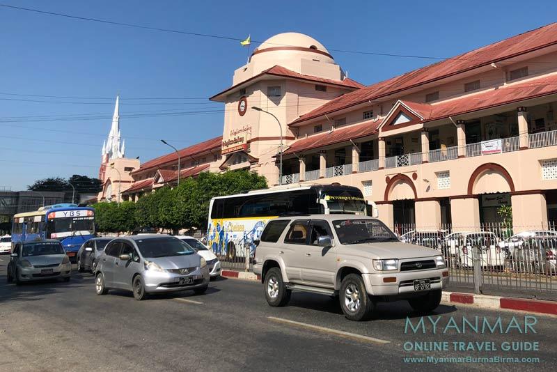 Myanmar Reisetipps | Yangon | Bogyoke Aung San Market